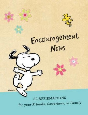 Peanuts Affirmation Notes, Package of 32  -