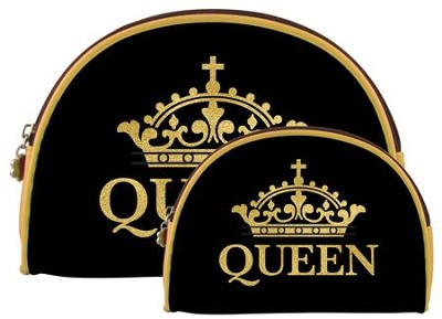 Queen, Cosmetic Duo Bags  -     By: G Perkins