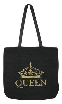 Queen Tote Bag  -     By: G Perkins