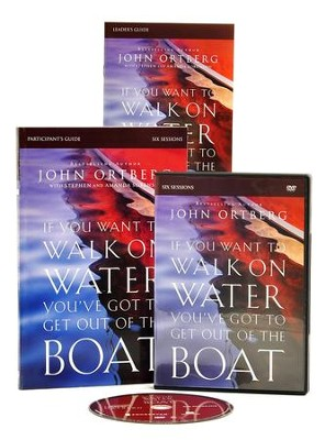 If You Want to Walk on Water You've Got to Get Out of the Boat DVD with Participant's Guide  -     By: John Ortberg, Stephen Sorenson, Amanda Sorenson