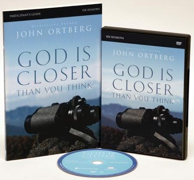 God Is Closer Thank You Think, Study Pack (DVD/Participant's Guide)   -     By: John Ortberg, Stephen Sorenson, Amanda Sorenson
