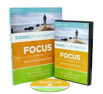 Focus Study Guide with DVD   -     By: Dr. Daniel Amen, Dee Eastman