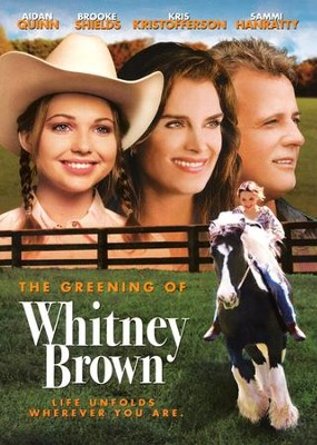 The Greening of Whitney Brown, DVD   -