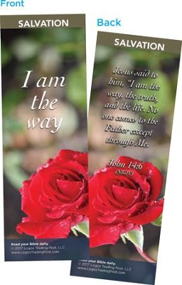I Am the Way Bookmarks, Pack of 25  -