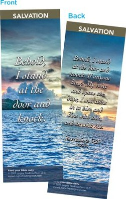 Behold, I Stand at the Door and Knock Bookmarks, Pack of 25  -