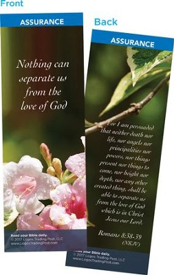 Nothing Can Separate Us From the Love of God Bookmarks, Pack of 25  -