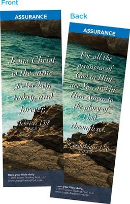 Jesus Christ is the Same Yesterday, Today and Forever Bookmarks, Pack of 25  -