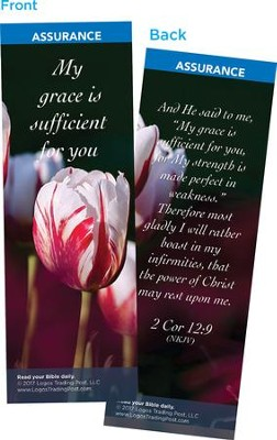 My Grace is Sufficient for You Bookmarks, Pack of 25  -