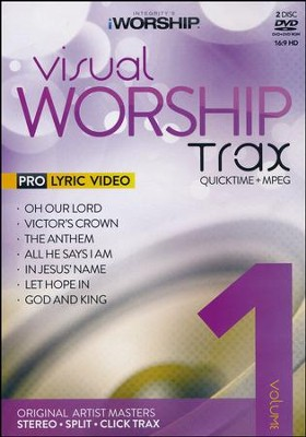 iWorship Visual Worship Trax: Volume 1, DVD   -