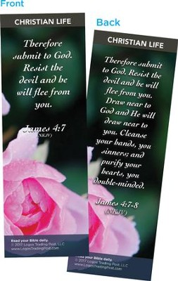Therefore Submit to God Bookmarks, Pack of 25  -