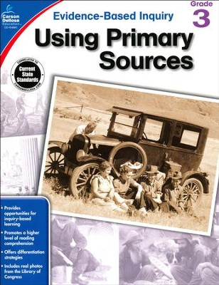 Using Primary Sources, Grade 3  -