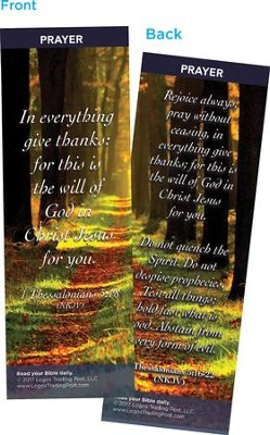 In Everything Give Thanks Bookmarks, Pack of 25  -
