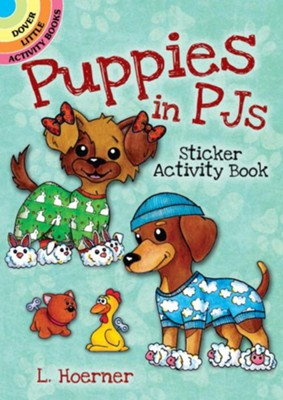 Puppies in PJs Sticker Activity Book  -     By: L. Hoerner