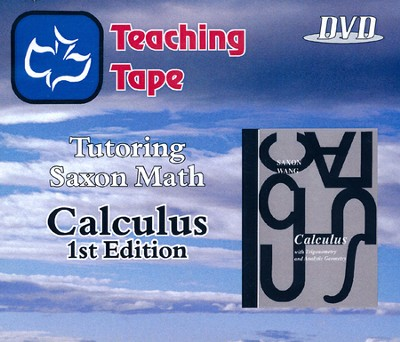 Teaching Tape Full Set DVDs: Calculus, 1st Edition  -