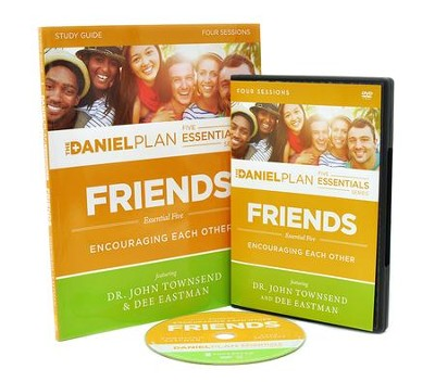 Friends Study Guide with DVD   -     By: Dr. John Townsend, Dee Eastman