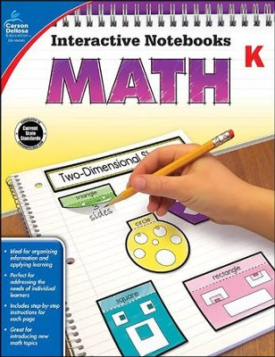 Interactive Notebooks Math, Grade K  -