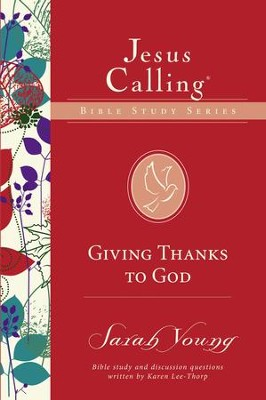 Giving Thanks to God - eBook  -     By: Sarah Young