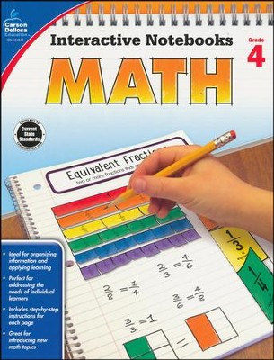 Interactive Notebooks Math, Grade 4  -