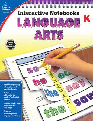 Interactive Notebooks Language Arts, Grade K  -