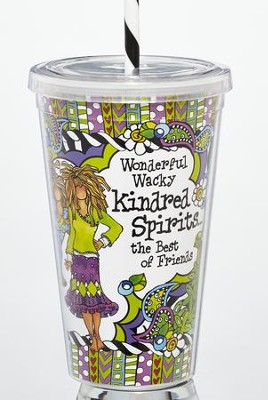 Wonderful Wacky Kindred Spirits, the Best of Friends Tumbler  -     By: Suzy Toronto