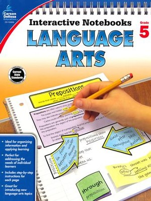 Interactive Notebooks Language Arts, Grade 5  -