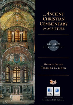 Ancient Christian Commentary on Scripture--Complete Set on CD (Macintosh)  -     Edited By: Dr. Thomas C. Oden Ph.D.     By: Thomas Oden, ed.