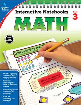 Interactive Notebooks Math, Grade 3  -