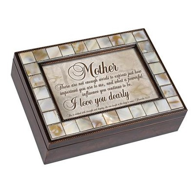 Mother, There Are Not Enough Words to Express Just How Important You Are to Me, Music Box  -