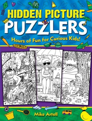 Hidden Picture Puzzlers  -     By: Mike Artell