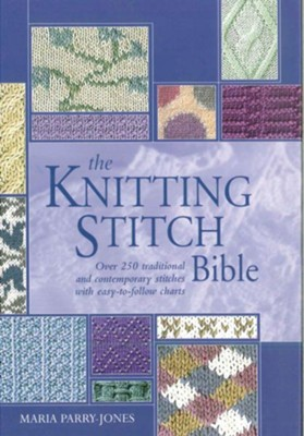 Knitting Stitch Bible  -     By: Maria Parry Jones