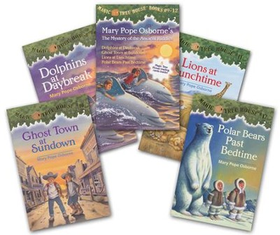 Magic Tree House: Books 9-12 Boxed Set  -     By: Mary Pope Osborne     Illustrated By: Sal Murdocca