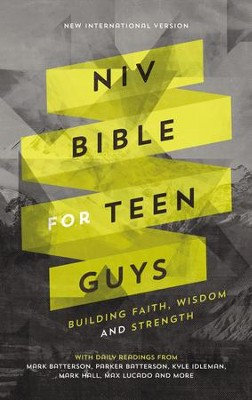 NIV Bible for Teen Guys: Building Faith, Wisdom and Strength - eBook  -     By: Zondervan