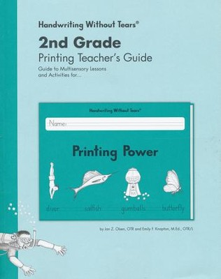 Printing Power Teacher's Guide, Grade 2, Updated Edition   -