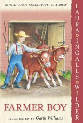 Farmer Boy - eBook  -     By: Laura Ingalls Wilder     Illustrated By: Garth Williams