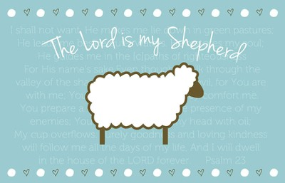The Lord is My Shepherd Magnet  -