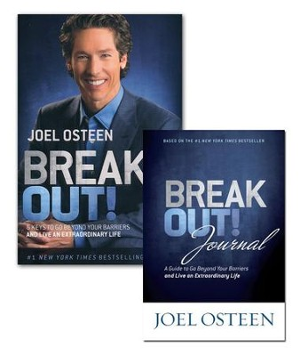 BREAK OUT PK - BK & JRNL  -     By: Joel Osteen