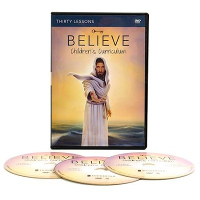 Believe Children's DVD Curriculum  -     By: Randy Frazee