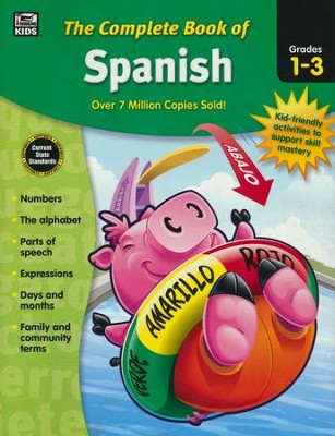 The Complete Book of Spanish, Grades 1-3  -