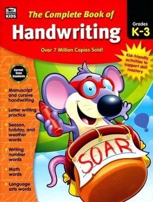 The Complete Book of Handwriting, Grades K-3  -
