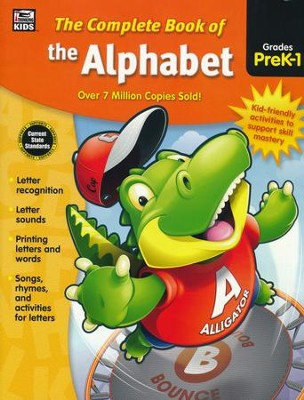 The Complete Book of the Alphabet, Grades PreK-1  -