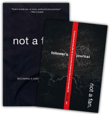 Not a Fan, Book & Journal   -     By: Kyle Idleman