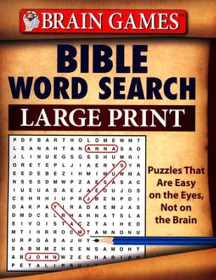 Bible Word Search: Large Print  -