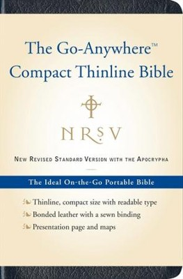 NRSV Go-Anywhere Compact Thinline Bible with Apocrypha   -