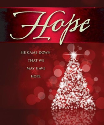 Hope Tree Advent Large Bulletins, Pack of 50  -