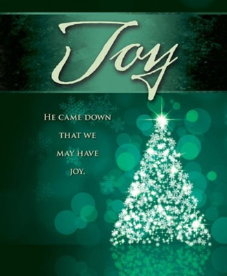 Joy Tree Advent Large Bulletins, Pack of 50  -