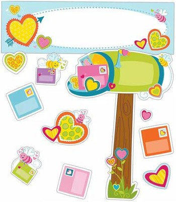 Valentine's Day Mini Bulletin Board Set, Grades K-5  -