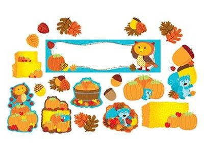 Fall Mini Bulletin Board Set, Grades K-5  -