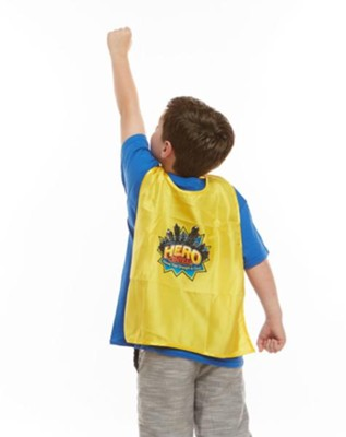 VBS 2017 Hero Central: Discover Your Strength in God! - Child's Cape with Logo (Pkg of 6)  -