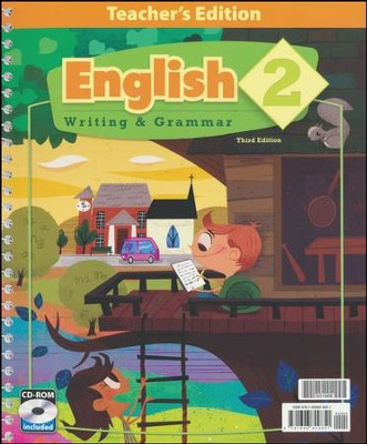 English Grade 2 Teacher's Edition (Book & CD-ROM; 3rd Edition)  -