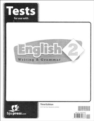 English Grade 2 Tests (3rd Edition)   -